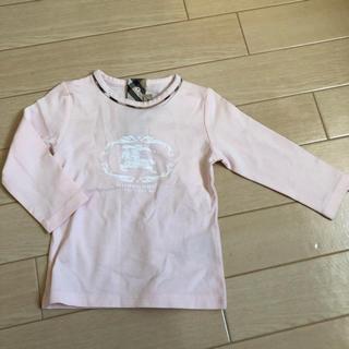 バーバリー(BURBERRY)のバーバリー Burberry ロンT ベビー用 9M(Tシャツ)