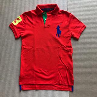 ポロラルフローレン(POLO RALPH LAUREN)のゆちぃ4543様専用 ポロラルフローレン  ポロシャツ  XS   オレンジ(ポロシャツ)