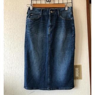 アーバンリサーチ(URBAN RESEARCH)のアーバンリサーチ  デニムタイトスカート 36(ひざ丈スカート)