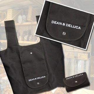 ディーンアンドデルーカ(DEAN & DELUCA)のDEAN&DELUCA エコバッグ 黒 新品(エコバッグ)