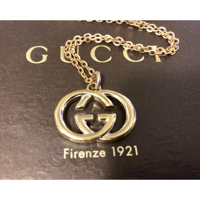 Gucci(グッチ)の 正規品 グッチ GUCCI チャーム トップ ネックレス  ゴールド  メンズのアクセサリー(ネックレス)の商品写真