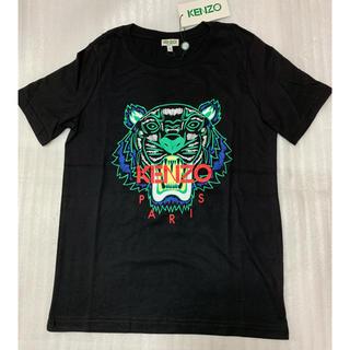 ケンゾー(KENZO)のS/KENZO/メンズTシャツ/ブラック&グリーン(Tシャツ/カットソー(半袖/袖なし))