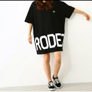 RODEO CROWNS WIDE BOWL - ロデオクラウンズ ビッグ Tシャツ ワンピース