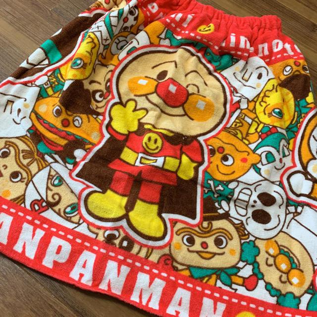 アンパンマン(アンパンマン)のアンパンマン ラップタオル キッズ/ベビー/マタニティのキッズ/ベビー/マタニティ その他(その他)の商品写真