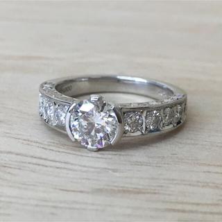 確認用 PTダイヤリング 1.014ct 1.01ct(リング(指輪))