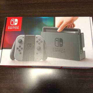 ニンテンドースイッチ(Nintendo Switch)のNintendo Switchグレー新品(家庭用ゲーム機本体)