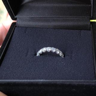 PT900  エタニティ リング 1ct ダイヤモンド 10.5号(リング(指輪))