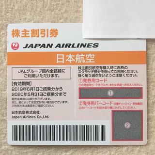 ジャル(ニホンコウクウ)(JAL(日本航空))のJAL 株主優待(航空券)