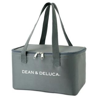 ディーンアンドデルーカ(DEAN & DELUCA)の【新品】ディーン&デルーカ「GLOW」 付録 保冷バッグ グレー(弁当用品)