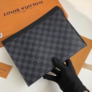 ルイヴィトン(LOUIS VUITTON)のルイヴィトン LOUIS VUITTON メンズ クラッチバック ポーチ(セカンドバッグ/クラッチバッグ)
