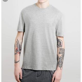 トップマン(TOPMAN)のメンズTシャツグレーXS(Tシャツ/カットソー(半袖/袖なし))