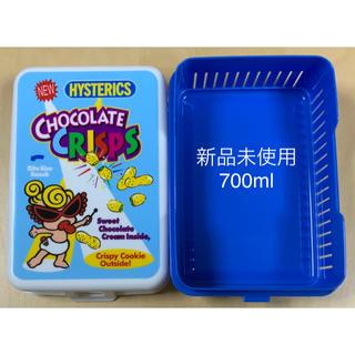 ヒステリックミニ(HYSTERIC MINI)のヒスミニ☆正規品☆新品☆ランチボックス☆お弁当箱☆ブルー(弁当用品)