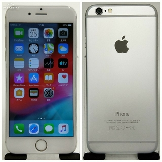iPhone - au版 iPhone 6 16GB Silver 美品 72%