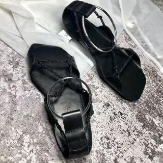 Jil Sander - Jii Sander ・100%羊革.19ss新品・サンダル