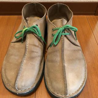 クラークス デザートトレック 数量限定品 スエード 靴 27センチ メンズ