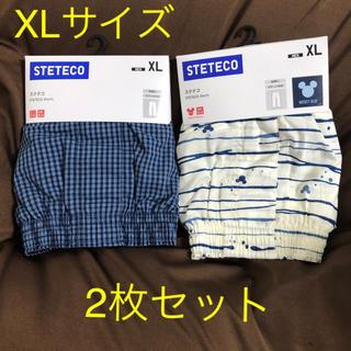UNIQLO - 【新品未使用】ユニクロ メンズ ステテコ XL(2枚セット)