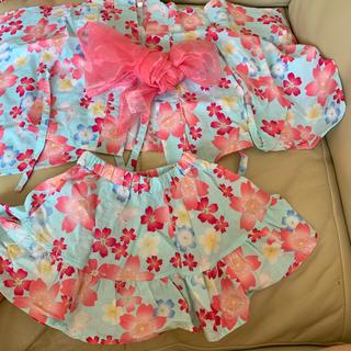 ニシマツヤ(西松屋)の浴衣 甚平 90 セット(甚平/浴衣)