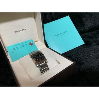 ティファニー(Tiffany & Co.)の即購入の方お値下げします!新品 定価36万 ティファニー  腕時計(腕時計(アナログ))
