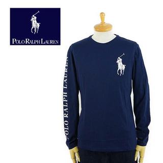POLO RALPH LAUREN - 定価9000円程 ポロラルフローレン 袖プリントTシャツ