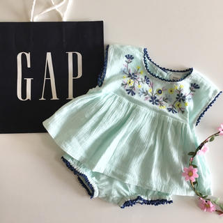 babyGAP - 新品♡今季♡baby gap♡セットアップ 刺繍/ラルフローレン ユニクロ 他