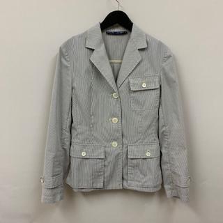 ラルフローレン(Ralph Lauren)のラルフローレン 綺麗 ストライプ ジャケット 夏物 サファリタイプ(テーラードジャケット)