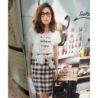 Apuweiser-riche - summer♡  チェックタイトスカート
