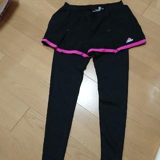 アディダス(adidas)の美品。アディダス ランニングパンツ レギンス  スポーツウェア ジム (レギンス/スパッツ)