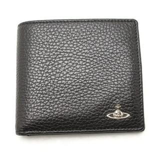 ヴィヴィアンウエストウッド(Vivienne Westwood)のVivienne Westwood 二つ折り財布 ブラック(折り財布)
