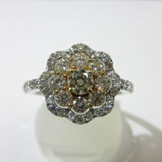 天然ダイヤモンド使用▶新品▶Total1.00ct▶イエローダイヤモンド▶指輪(リング(指輪))