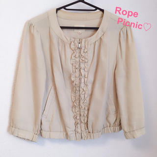 Rope' Picnic - 6/26まで値下げ♡ロペピクニック♡ジャケット♡フリル
