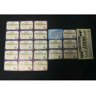 ラウンドワン500円×20枚 他(ボウリング場)