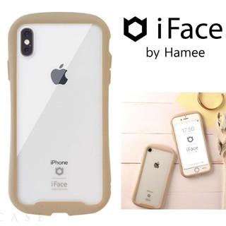 【iPhoneXS/X 】iFace Reflection強化ガラスクリアケース