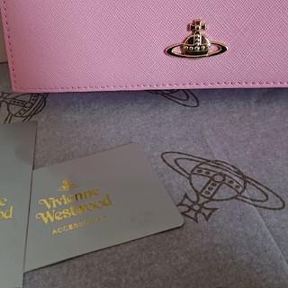 ヴィヴィアンウエストウッド(Vivienne Westwood)の【限定価格】ヴィヴィアンウエストウッド 長財布 レディース ピンク(財布)