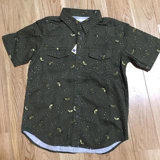 GU - GU 新品!プリントシャツ 130cm