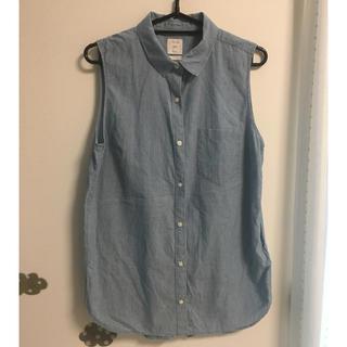 ギャップ(GAP)のノースリーブシャツ(シャツ/ブラウス(半袖/袖なし))