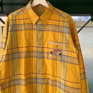 CASTELBAJAC - CASTELBAJAC チェックシャツ オーバーサイズ ださかわ vintage