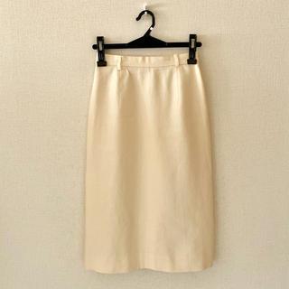 ラルフローレン(Ralph Lauren)のラルフローレン♡リネン素材の膝丈スカート(ひざ丈スカート)