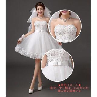 ウェディングドレス 結婚式 二次会 ミニドレス