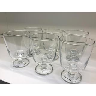イケア(IKEA)の【6個セット】IKEA 365+ ゴブレット, クリアガラス(グラス/カップ)
