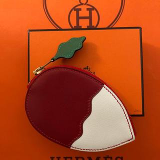 Hermes - HERMES ラディッシュ コインケース 新品未使用 レア‼️