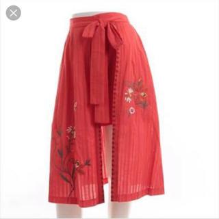 Lily Brown - リリーブラウン  ラップ刺繍 ショートパンツ
