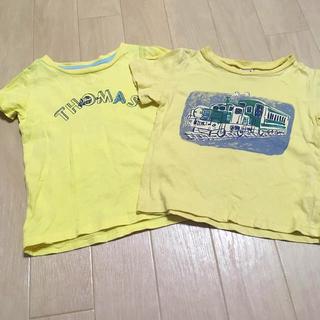 プティマイン(petit main)のトーマス 汽車 Tシャツ 100cm 2枚セット(Tシャツ/カットソー)