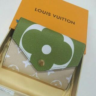 LOUIS VUITTON - LV 19ss新品財布 三つ折りたたみ財布 レディース ファッション