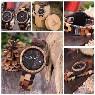 世界に1つ♬ボボバード BOBO BIRD 木製腕時計!