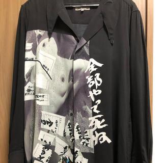 Yohji Yamamoto - Yohji Yamamoto POUR HOMME ロングブラウス