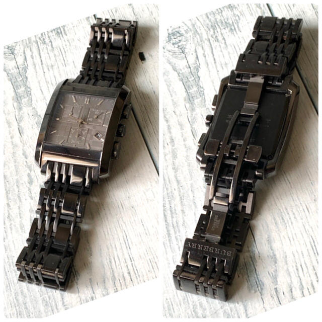 BURBERRY(バーバリー)の【電池交換済み】BURBERRY バーバリー BU1563 腕時計 スクエア メンズの時計(腕時計(アナログ))の商品写真