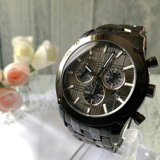 バーバリー(BURBERRY)の【電池交換済み】BURBERRY バーバリー BU1854 腕時計 クロノグラフ(腕時計(アナログ))