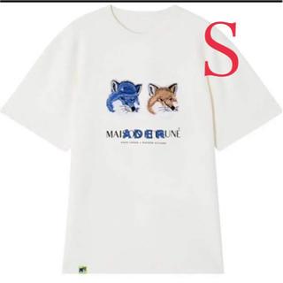 MAISON KITSUNE' - 最安 ラスト1枚 ADER ERROR アーダーエラー  メゾンキツネ tシャツ