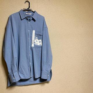 RAF SIMONS - 韓国ブランド adererror Ader pvcポケットオーバーシャツ