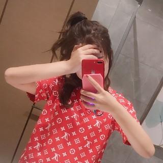 ルイヴィトン(LOUIS VUITTON)のlouis vuittonとsupreme Tシャツ(Tシャツ(半袖/袖なし))